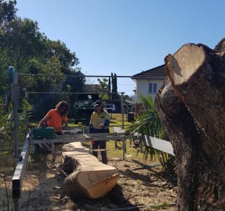 Onsite Timber Milling